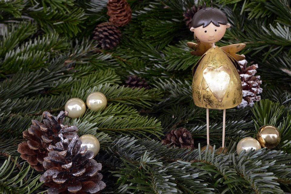 Blog - Angel in Christmas Tree