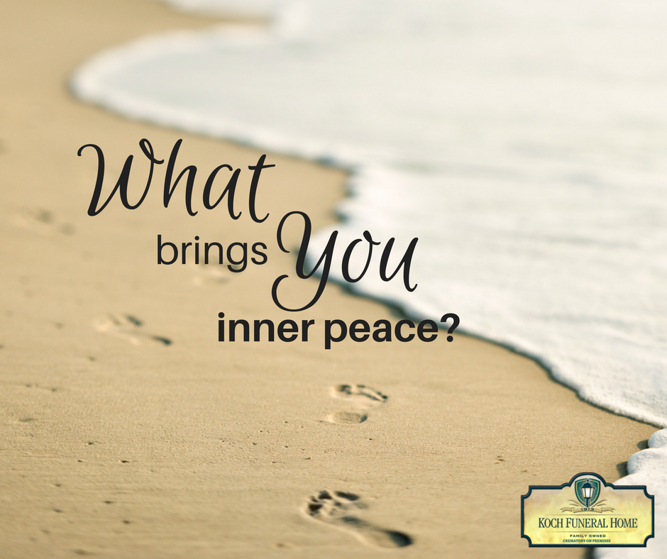 2018 - MM Blog - What brings you inner peace