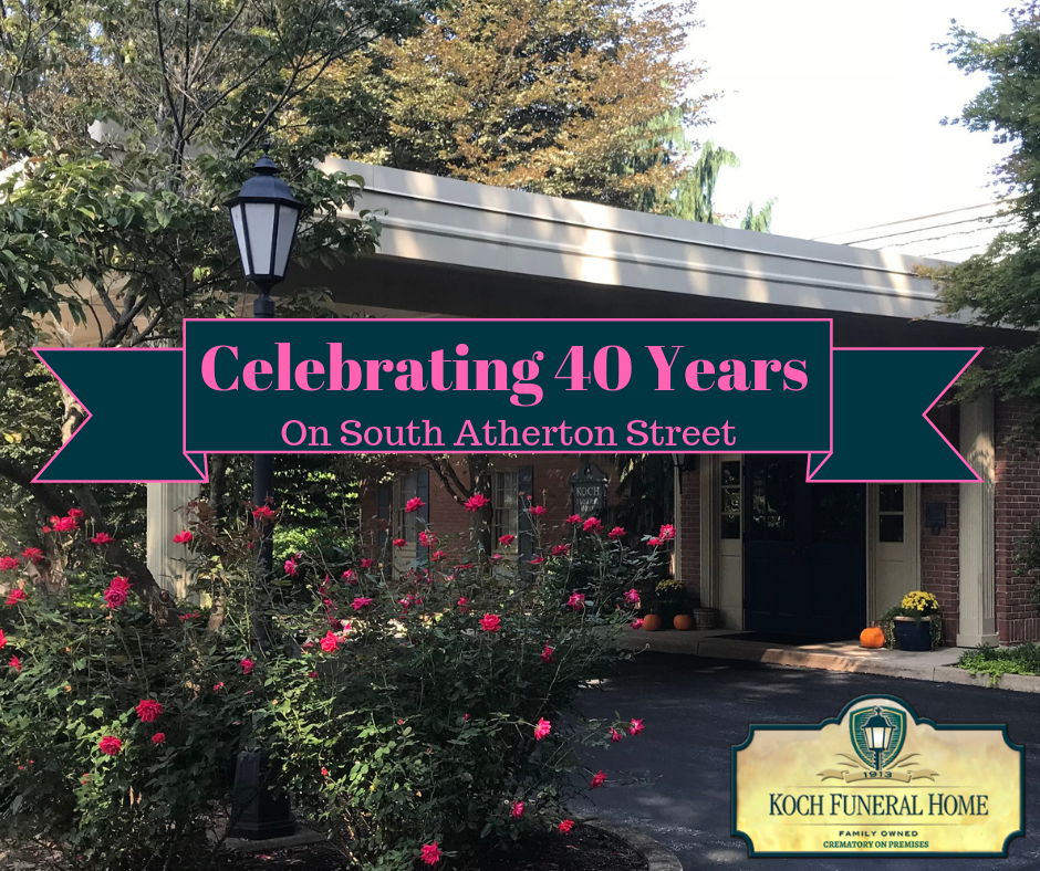 2018 - FB - Celebrating 40 Years on Atherton