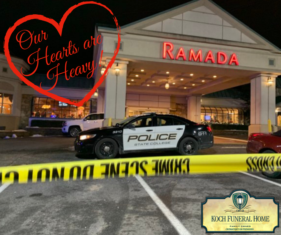 Pray for State College ~ Shootings at State College Ramada Inn Hotel, Tussey Lane Home