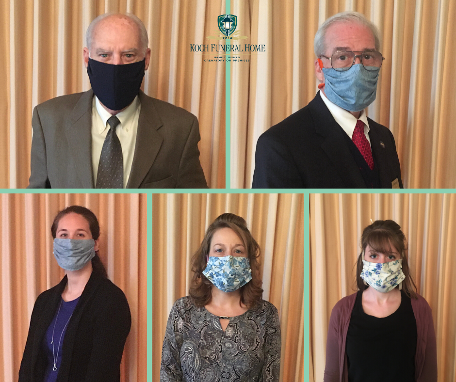 2020 - FB - Staff with Mask - Thank you Breanne