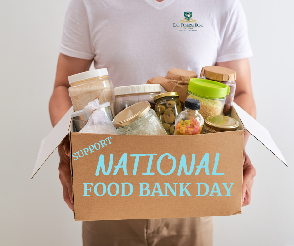 September 4 2020 - National Food Bank Day