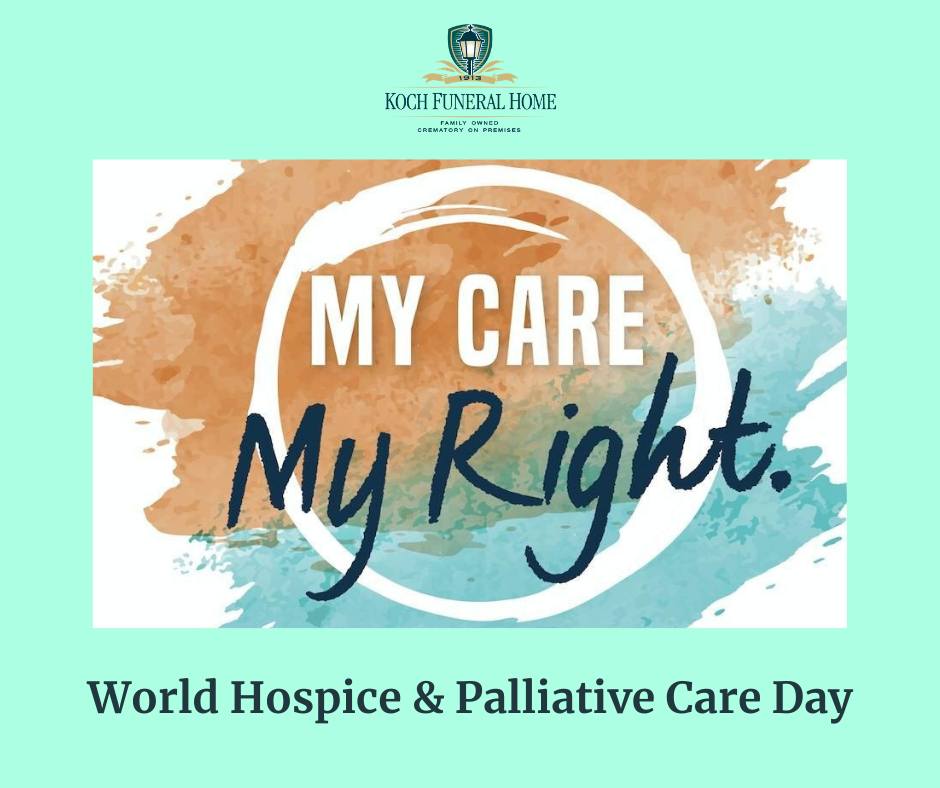 October 10 2020 - World Hospice & Palliative Day