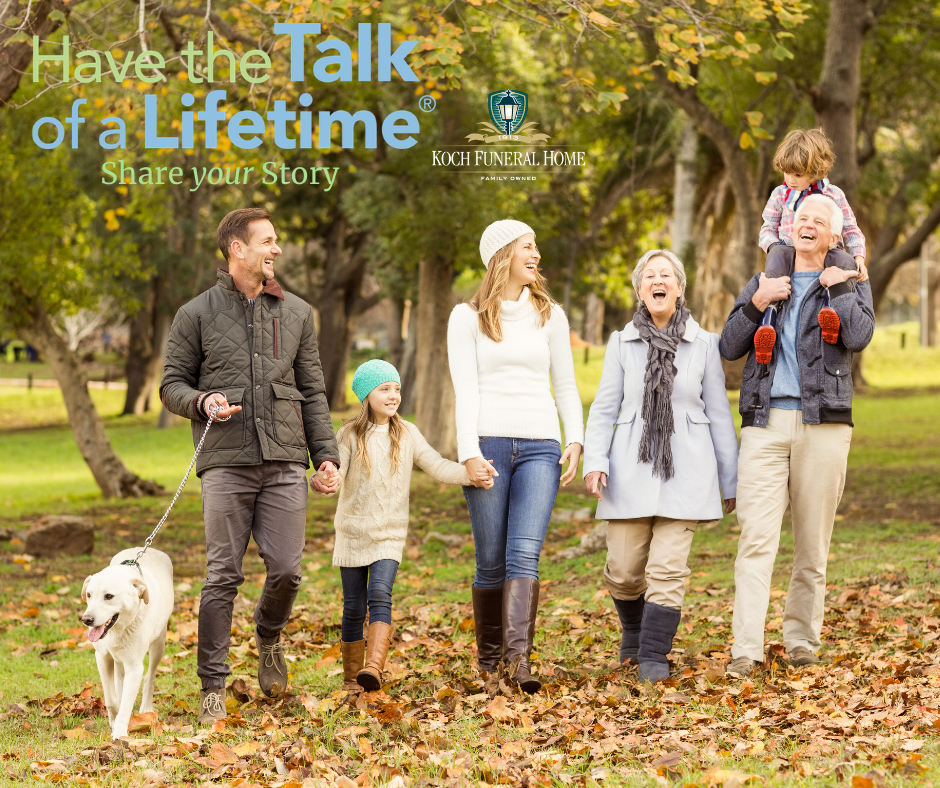 Have the Talk of a Lifetime - What matters most?