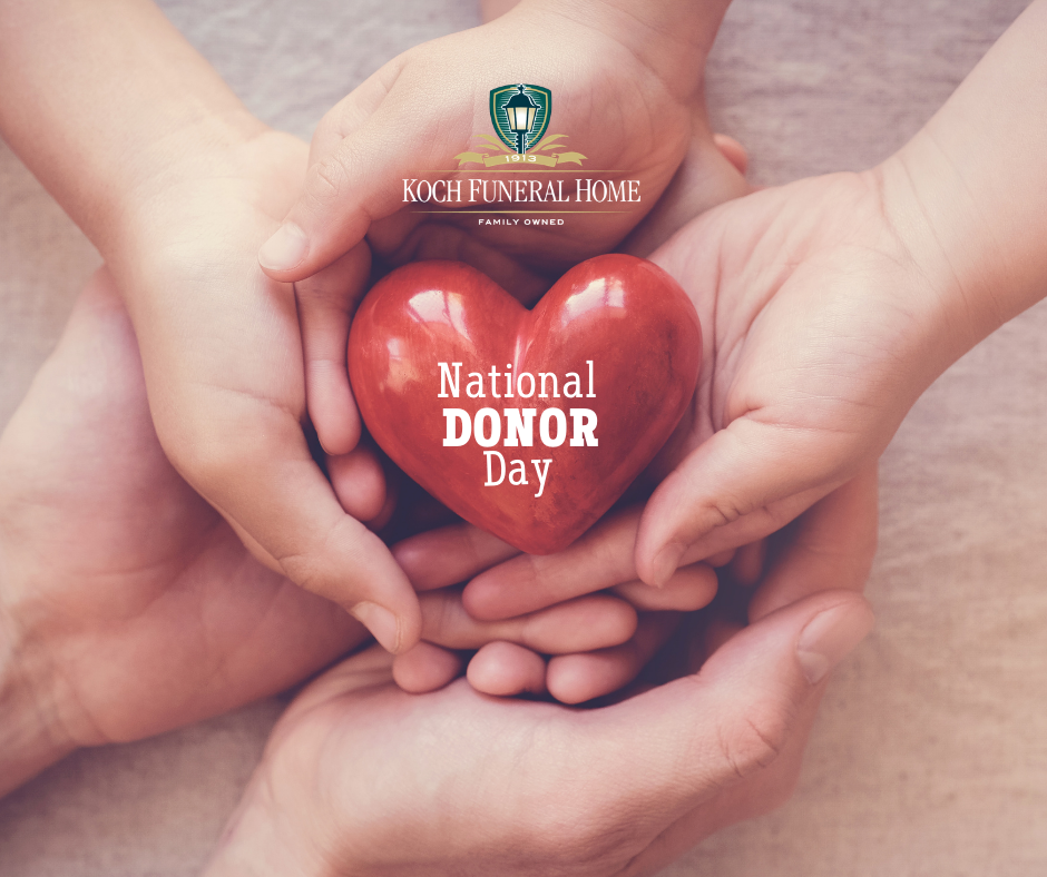 February 14 - National Donor Day