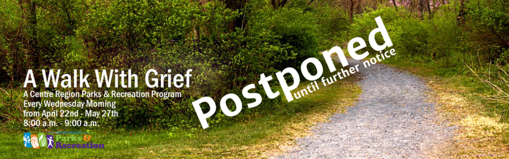 2020 - Website Banner - Apr - A Walk with Grief - Postponed